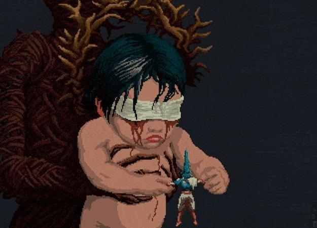 Жуткая икровавая Blasphemous— пиксельная 2D-версия Dark Souls
