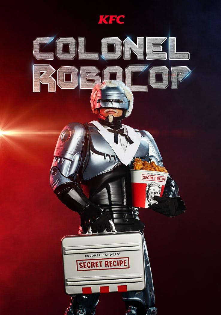 Робокоп стал следующим полковником Сандерсом илицом сети ресторанов KFC