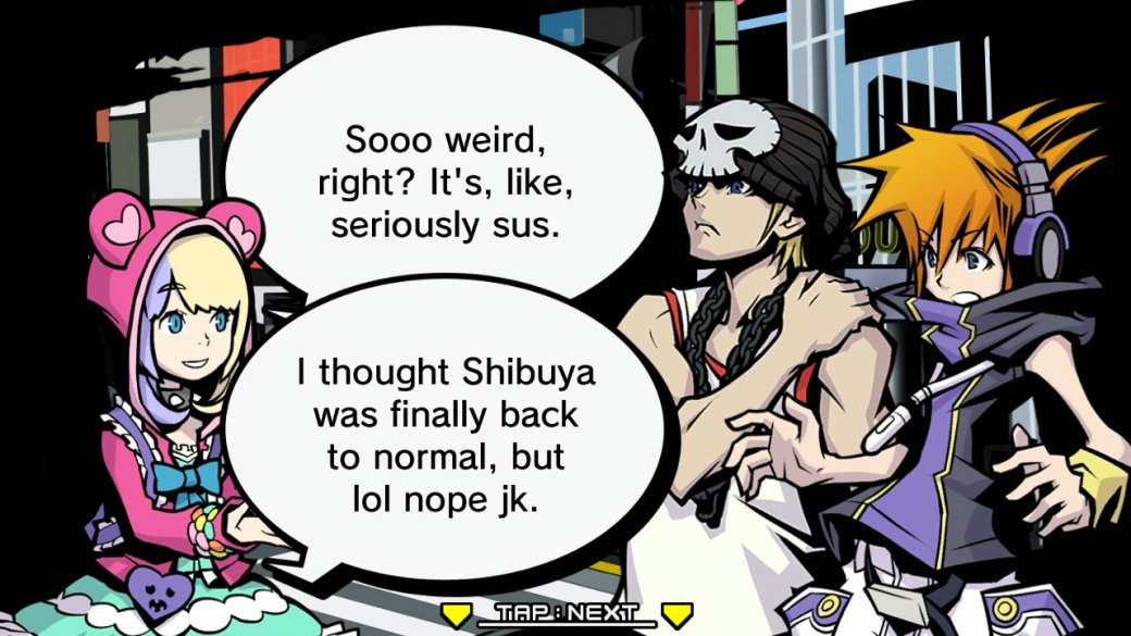 Рецензия на The World Ends with You: Final Remix