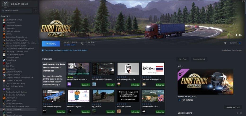 Всеть утекли скриншоты редизайна библиотеки идостижений Steam
