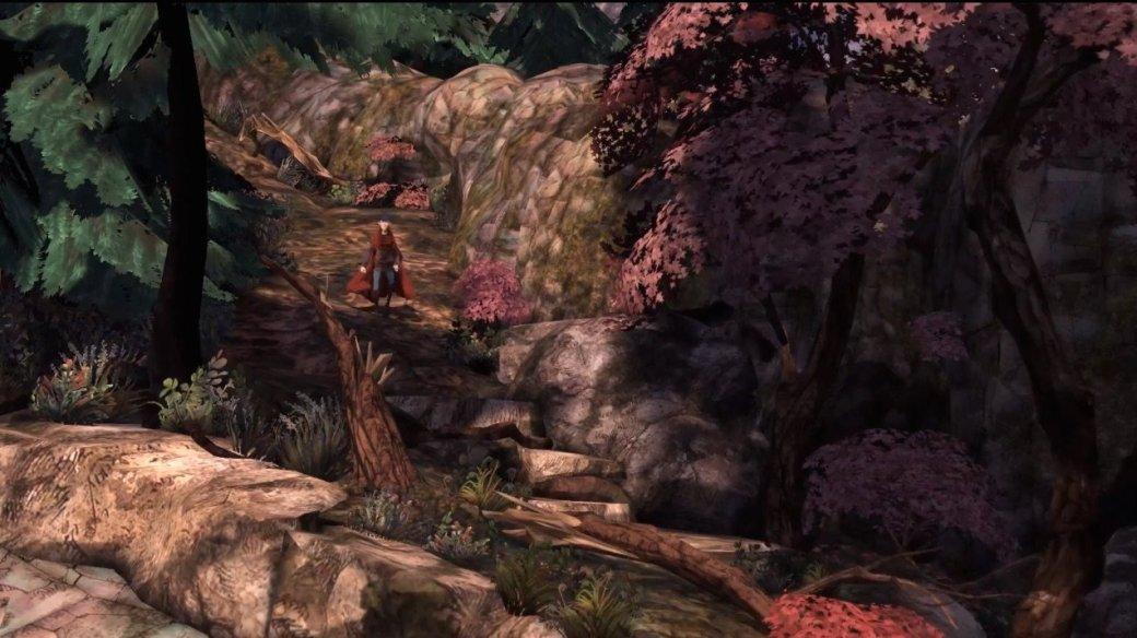 Кристофер Ллойд озвучил  Грэхэма в King's Quest: «да, тут я умер»