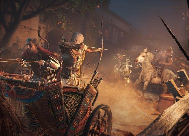Чем разработчики Assassin's Creed: Origins занимались целый год