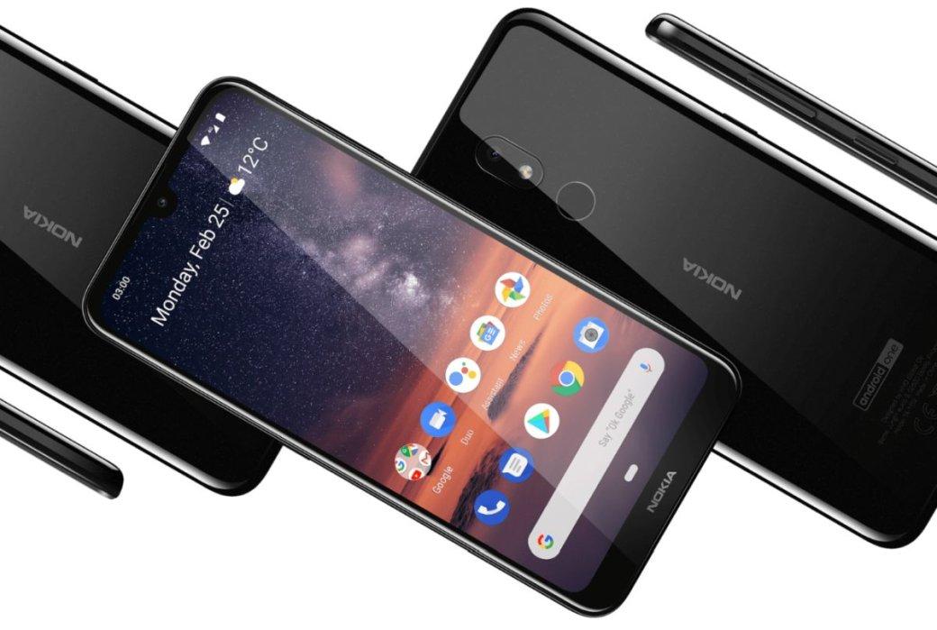 ВРоссии вышел бюджетный смартфон Nokia3.2
