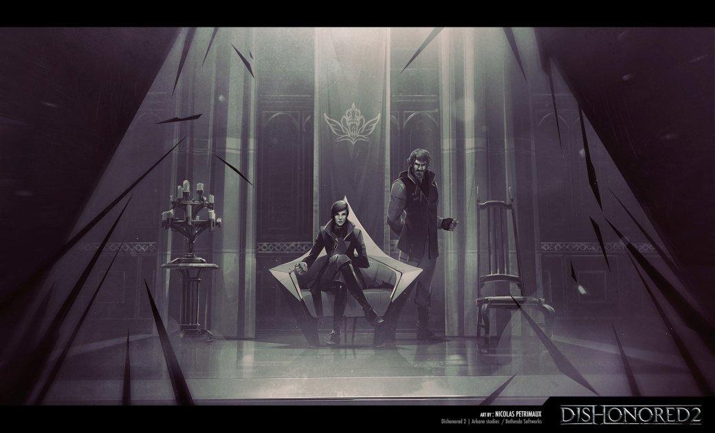 Потрясающие концепт-арты Dishonored 2 отхудожника игры