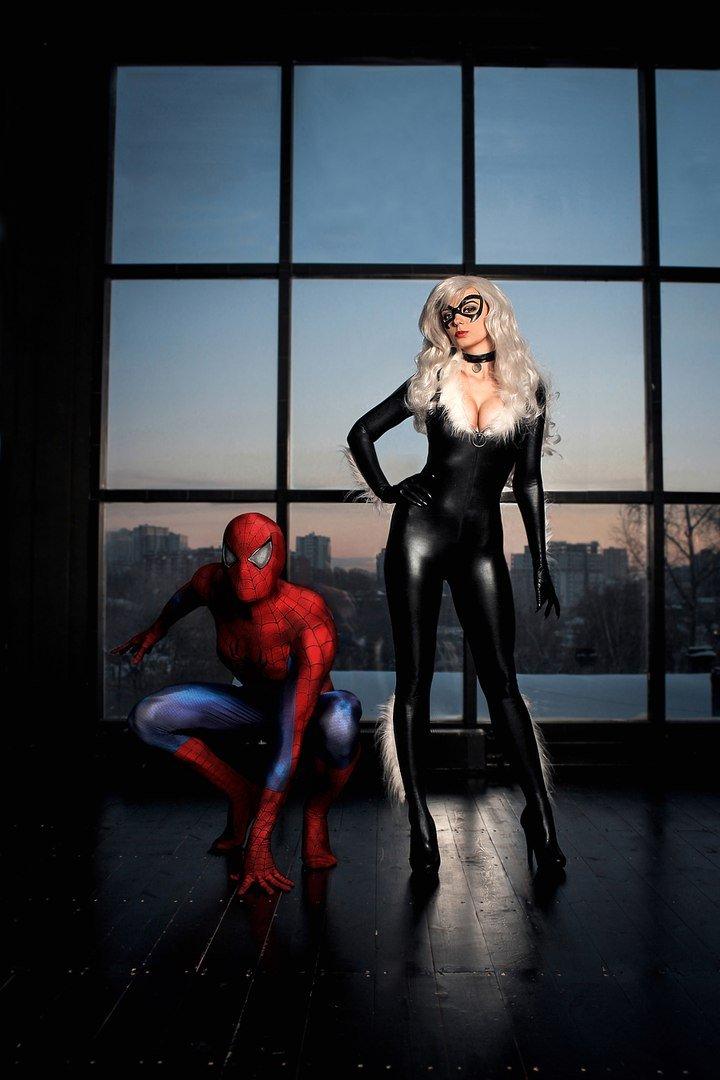 Косплей дня: Человек-паук иего прекрасные женщины. Кого выберетевы?