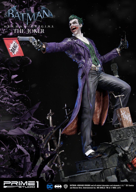Фанатам Джокера посвящается: новая восхитительная статуя принца-клоуна