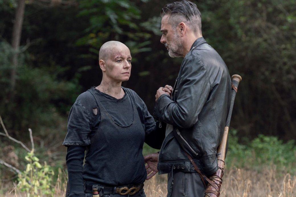 Что показали в12 серии 10 сезона «Ходячих мертвецов». Смерть злодея иХиллтоп вогне