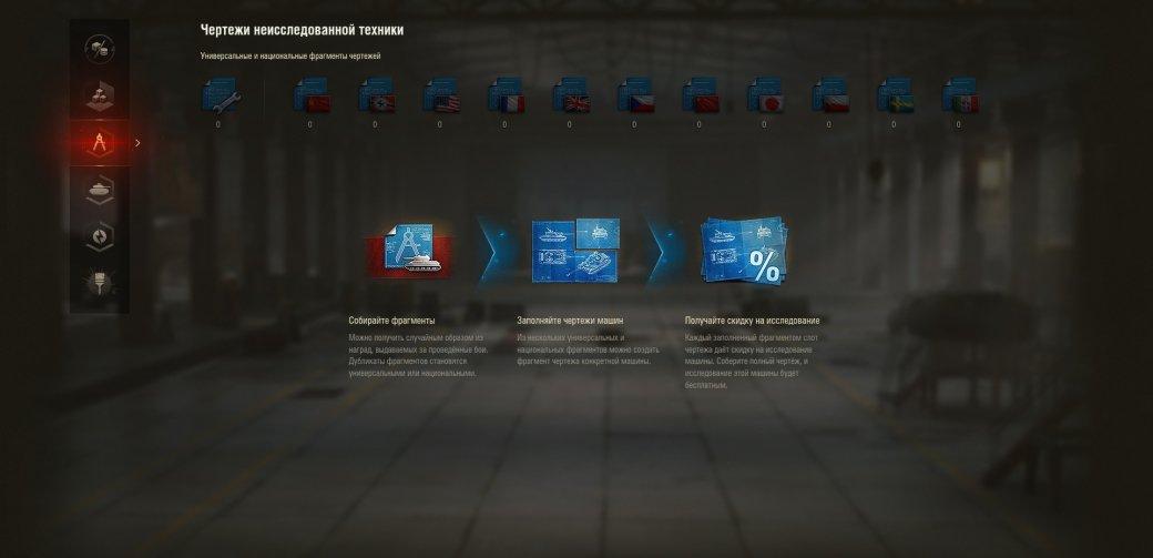 В World of Tanks выходит обновление 1.4.1. После каждого боя игроки будут получать чертежи танков