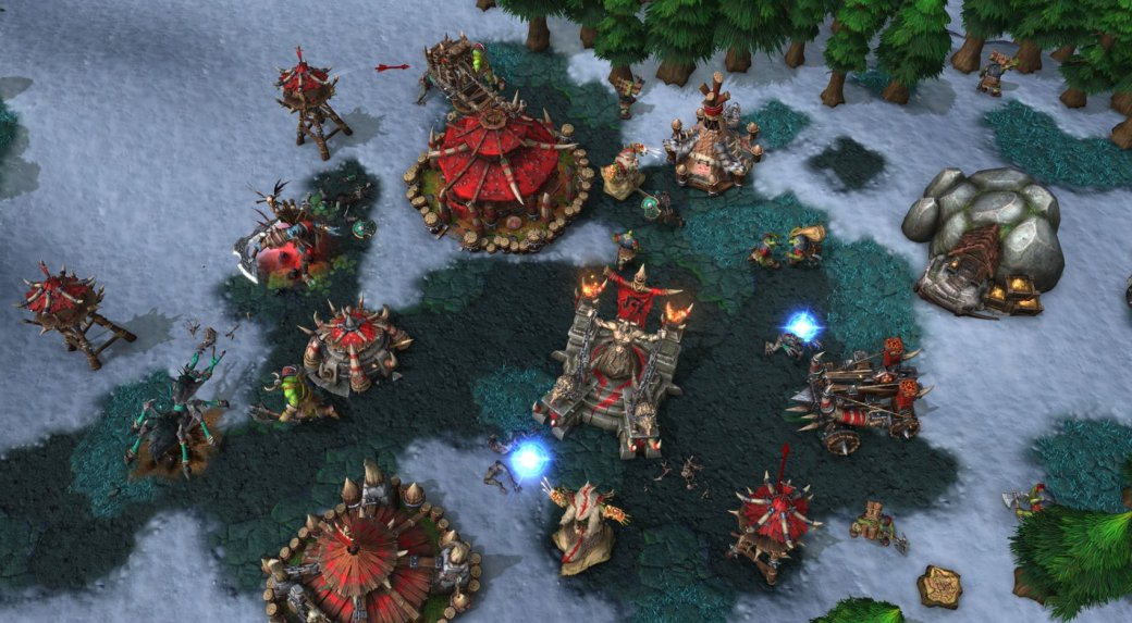 5 худших игр 2020. 2 место. Warcraft III: Reforged — причина недопониманий между фанатами и Blizzard