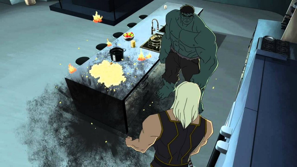 Все знают киновселенную Marvel. Нокак там дела санимацией?
