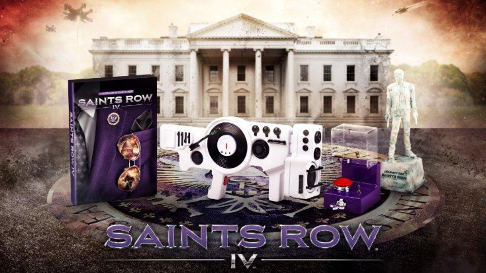 Saints Row 4 получит коллекционное издание
