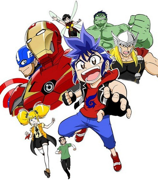 Летом выйдет новое аниме по«Мстителям»