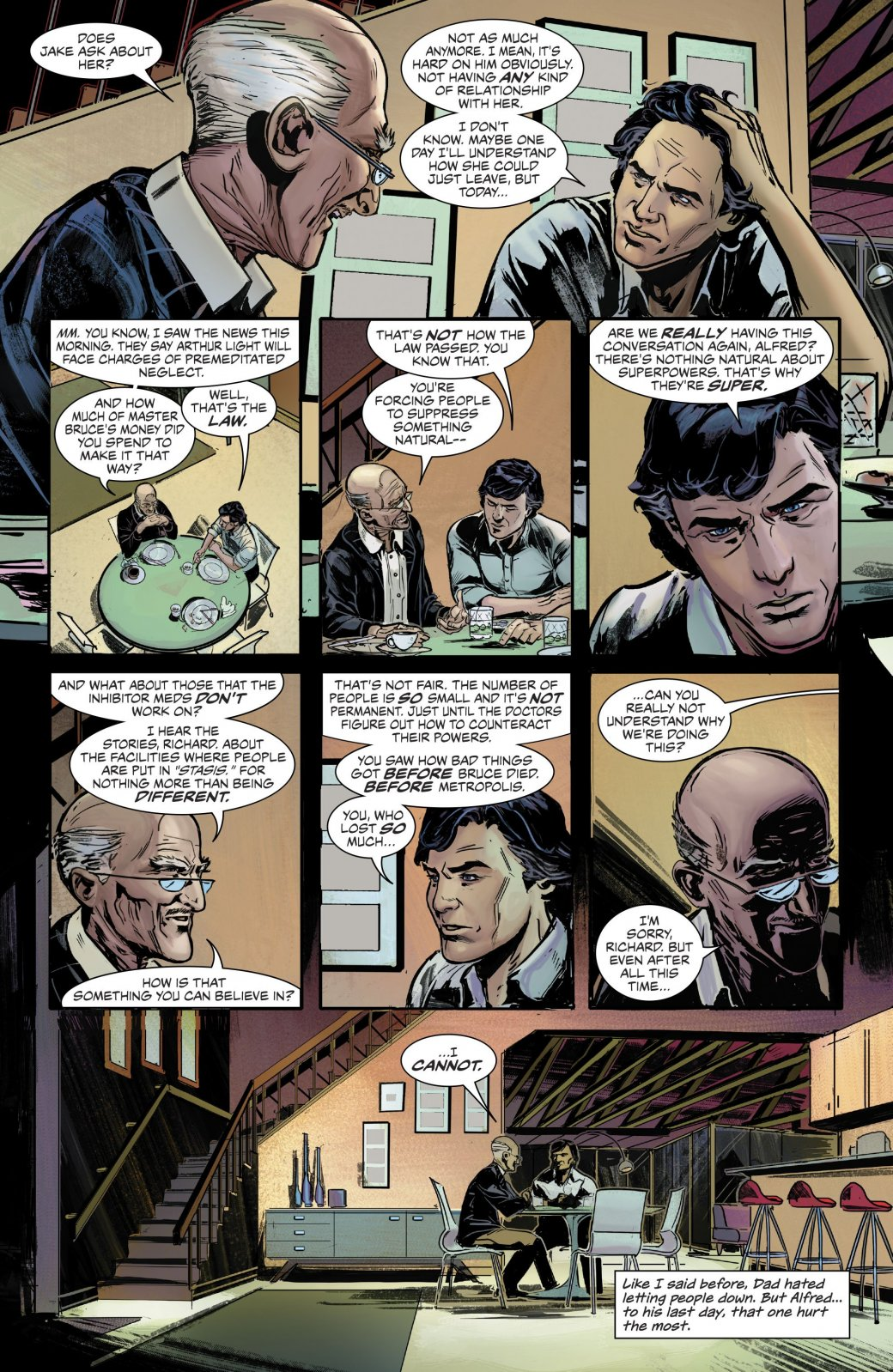 Вмире комикса Nightwing: The New Order суперспособности вне закона