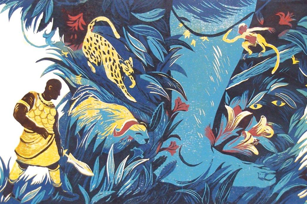 «Черный леопард, рыжий волк» (Black Leopard, Red Wolf)— это четвертый роман ямайского писателя Марлона Джеймса. Книга открывает трилогию «Темная звезда», вкоторой автор планирует через нескольких свидетелей, рассказы которых противоречат друг другу, найти истинный ответ, почему произошло событие, окотором мыузнаем спервых строк— «Малец мертв. Больше идопытываться нечего».
