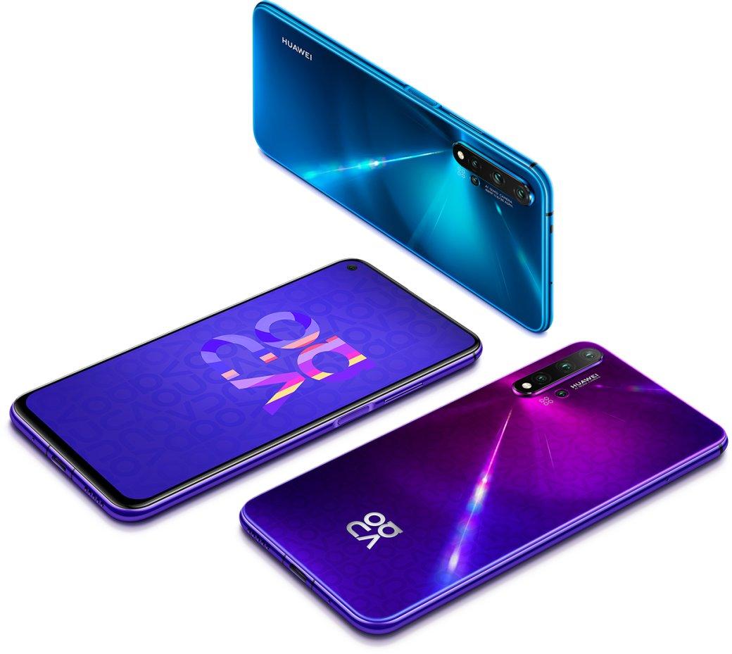 Huawei Nova 5T: пятикамерный флагман поцене 25000 рублей