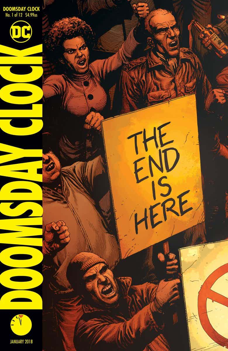 Уже совсем скоро Доктор Манхэттен появится вкомиксах DC