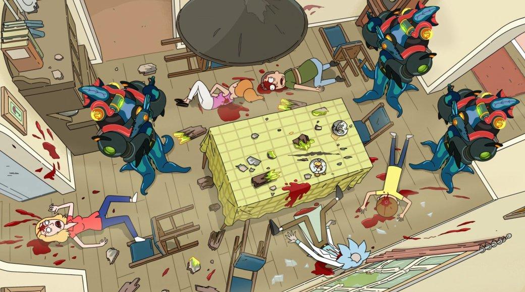 Рецензия на 2 серию 5 сезона «Рика и Морти». Один из самых творческих и депрессивных эпизодов