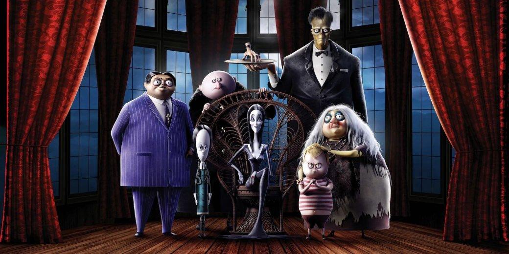 Анимационная «Семейка Аддамс» (The Addams Family) 2019 года вмире вышла 10октября. ВРоссийском прокате мультфильм появится более символично— 31 числа, под Хэллоуин.