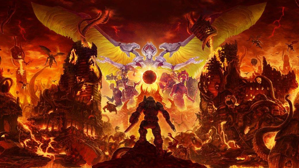 Rip and Tear! Вновом геймплее мультиплеера Doom Eternal очень много мяса [обновлено]