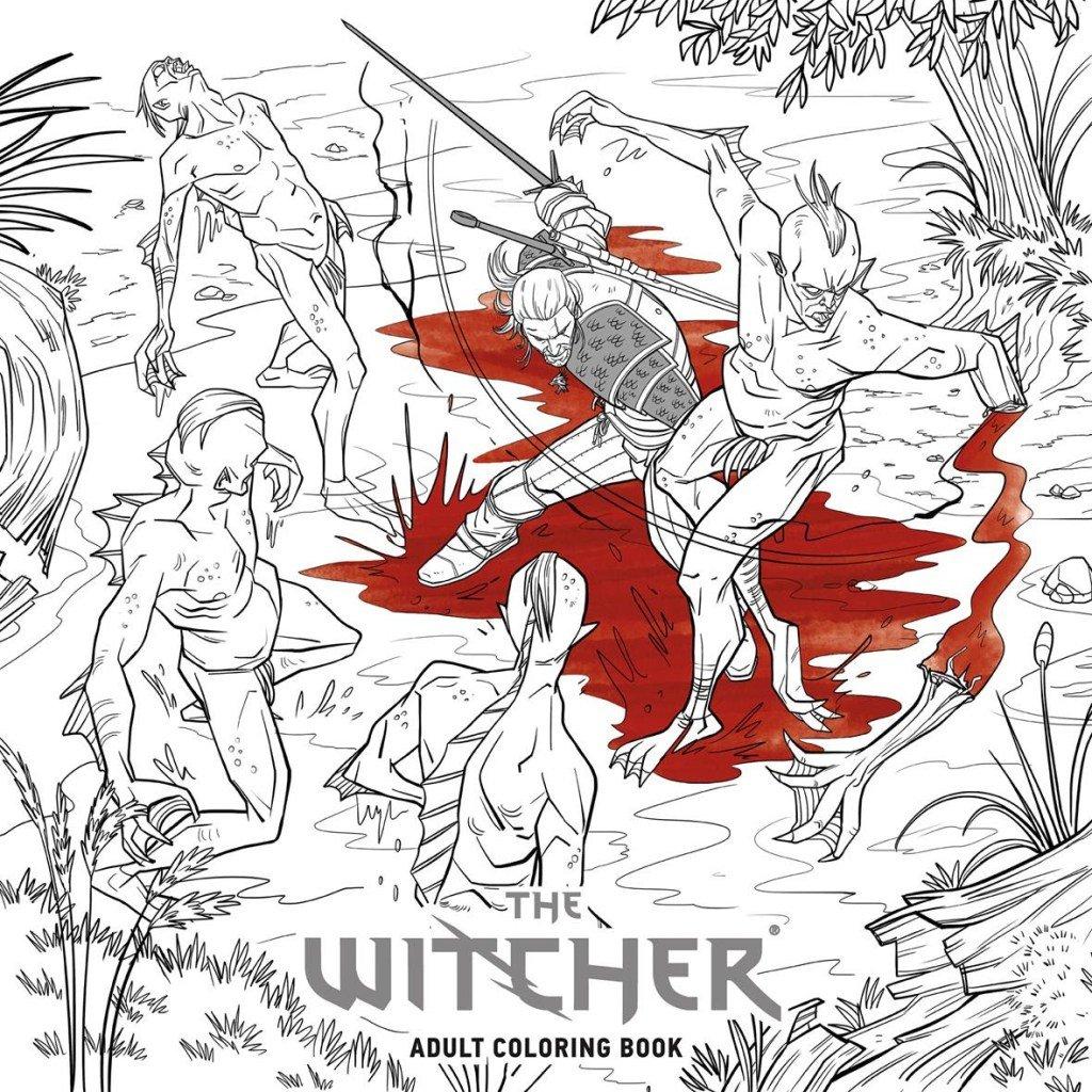 Авторы третьего «Ведьмака» выпустят раскраску для взрослых поигре