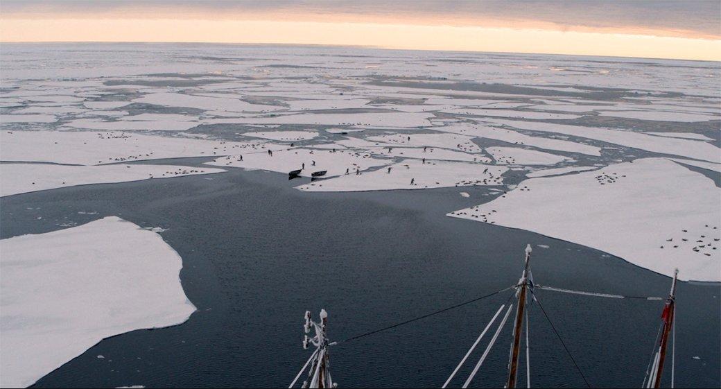 Обзор 1 серии «Северных вод». Брутальная историческая драма об охоте на китов с Колином Фарреллом