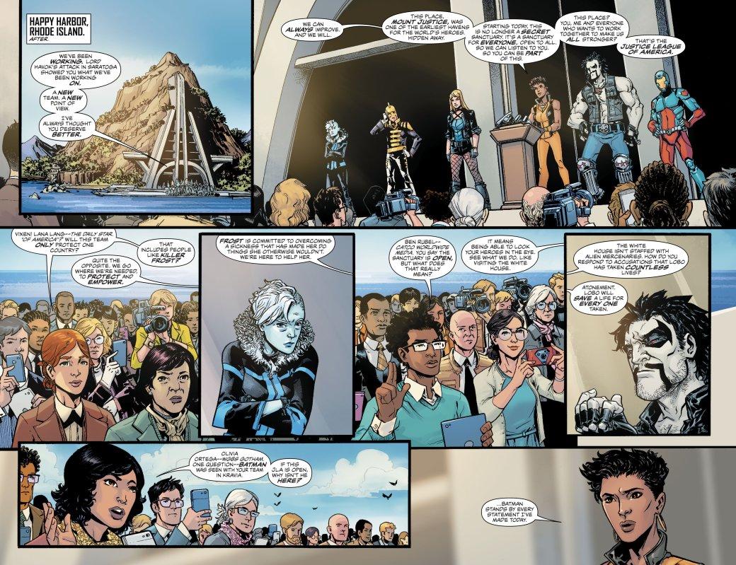 Бэтмен сделал наемника Лобо членом Лиги справедливости. Достоин ли он?