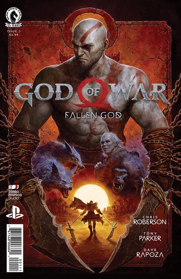 Комикс-приквел God of War получил новую дату релиза