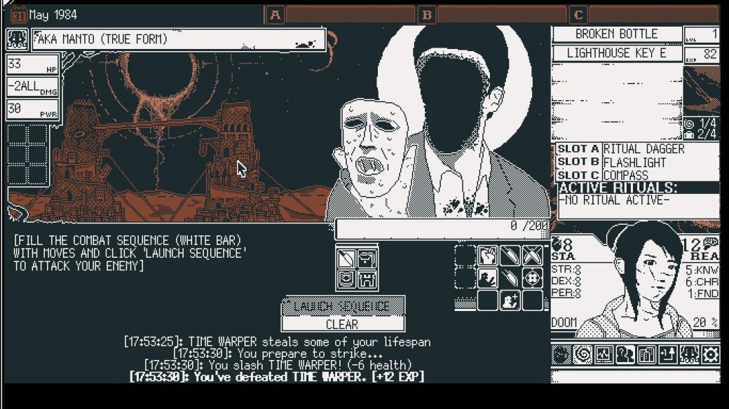 Галерея. 25 атмосферных скриншотов World ofHorror, полных космического ужаса