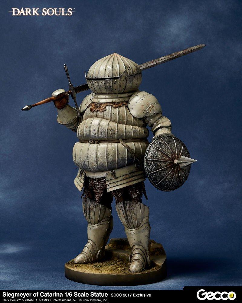 Потрясающая статуя самого нелепого рыцаря изDark Souls3