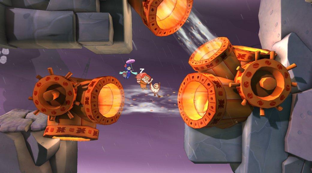 Штормовой платформер Shu нарисуется на PlayStation в 2015 году