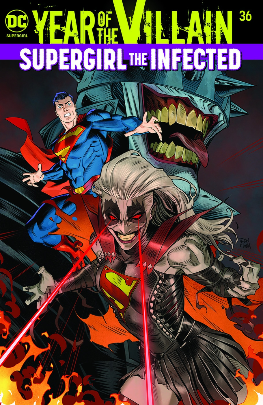 Стали известны еще двое супергероев, попавших под влияние Бэтмена-Джокера. Среди них Супергерл