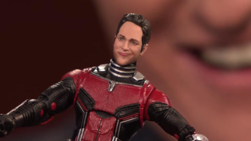«Похож насволочь». Пол Радд неоценил фигурку Человека-муравья