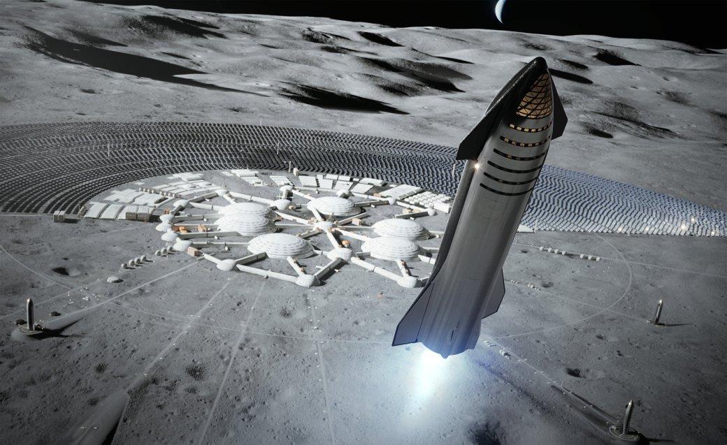 Илон Маск показал корабль, способный отправить 100 человек вкосмос