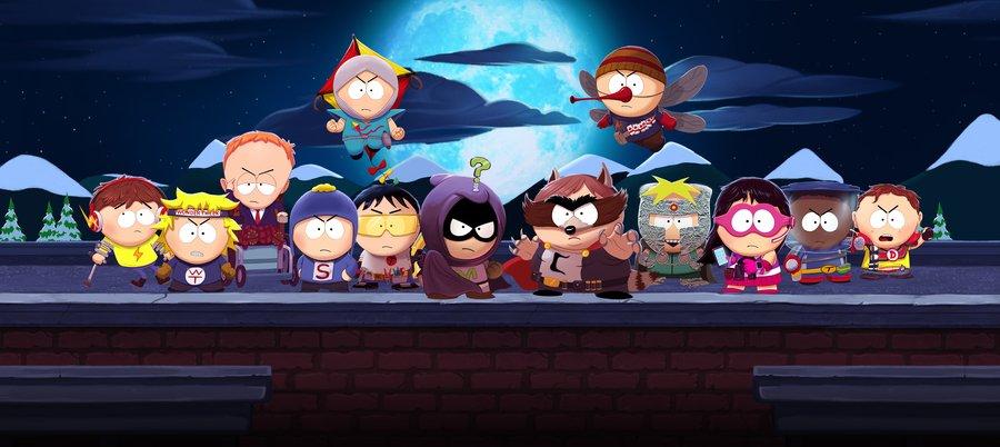 South Park: The Fractured but Whole— прямое продолжение «Палки истины», только наэтот раз создатели игры решили поиздеваться ненад жанром RPG, анад супергеройскими франшизами. Вобщем, снова взялись загрубую социальную сатиру— ура! Вместе сдетьми, живущими вЮжном парке, вам предстоит стать тем героем, которого заслуживает этот город— Невероятным Поперденем.