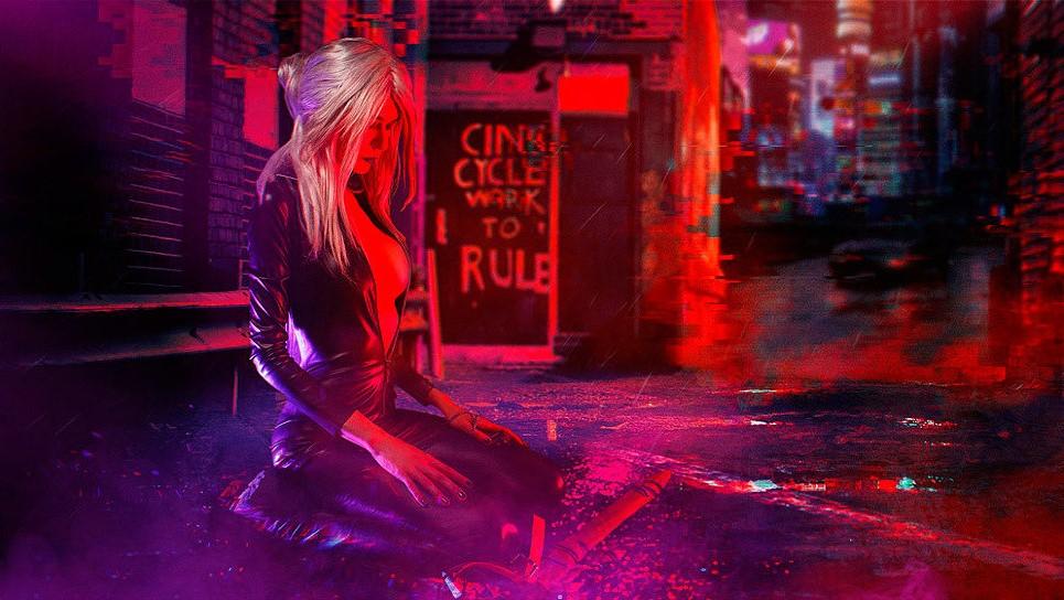 Российская косплей-модель перенесла Цири вмир Cyberpunk 2077