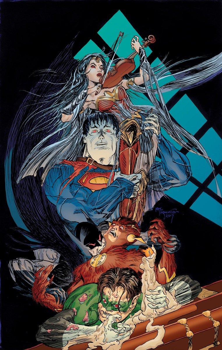 DCвыпустит хоррор-антологию, превратив супергероев вмонстров