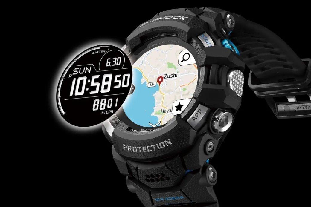 Casio представила первые «умные» часы влинейке G-Shock