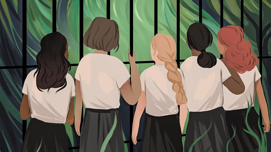 Рецензия на«Дикие» Рори Пауэр. Частная школа для девочек ивирус, вызывающий мутации