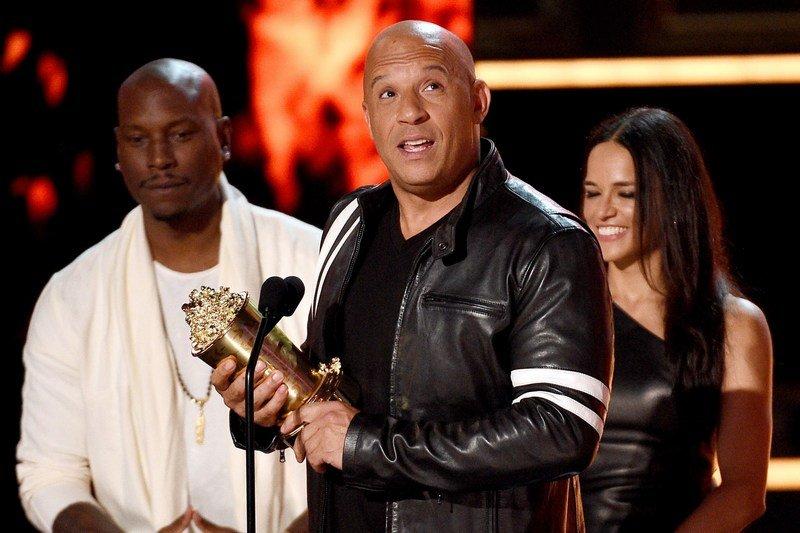 Вин Дизель посвятил Полу Уокеру трогательную речь на MTV Awards