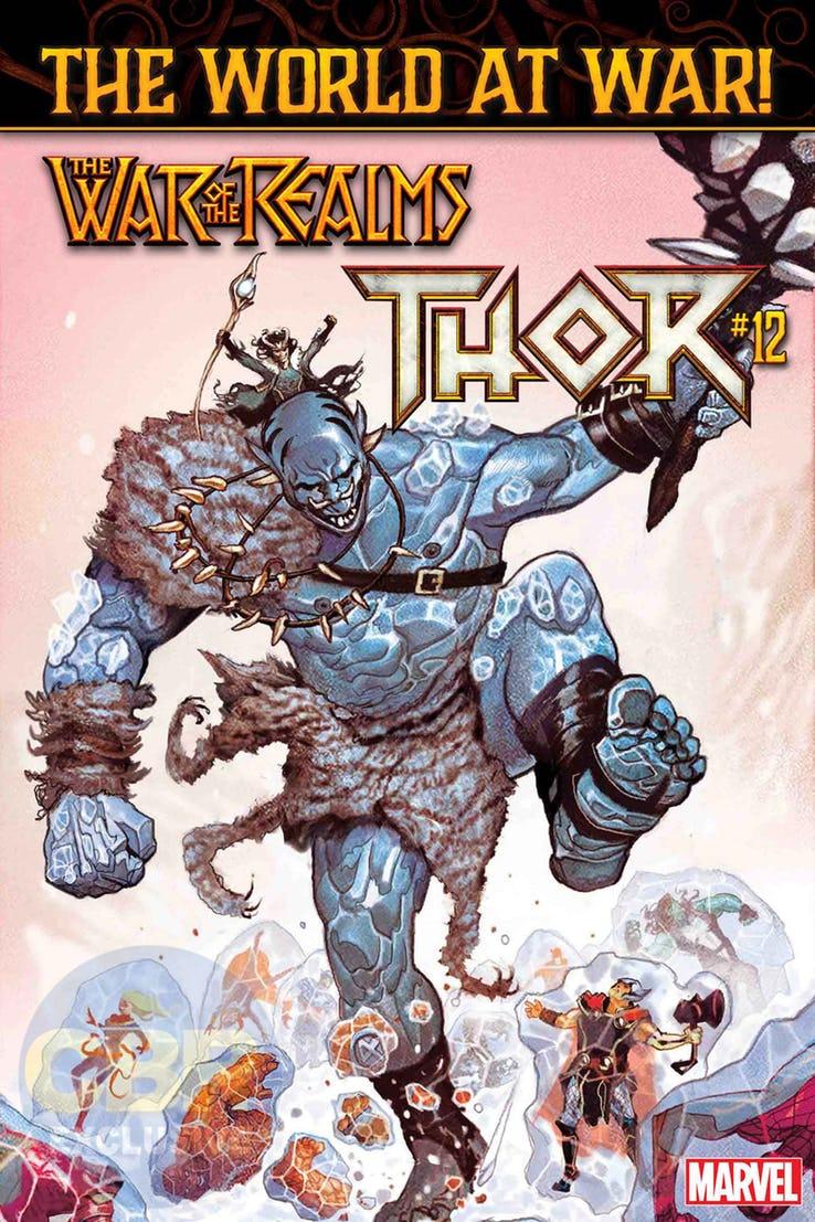 Война девяти миров отMarvel расширяется: что произойдет сКарателем, Людьми Икс и Тором