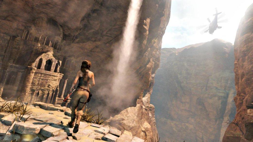 Галерея: Rise of the Tomb Raider — медведь, холод и горы