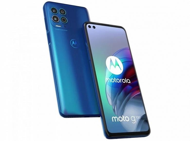 Motorola представила Moto G100— флагманский долгожитель сдвойной селфи-камерой