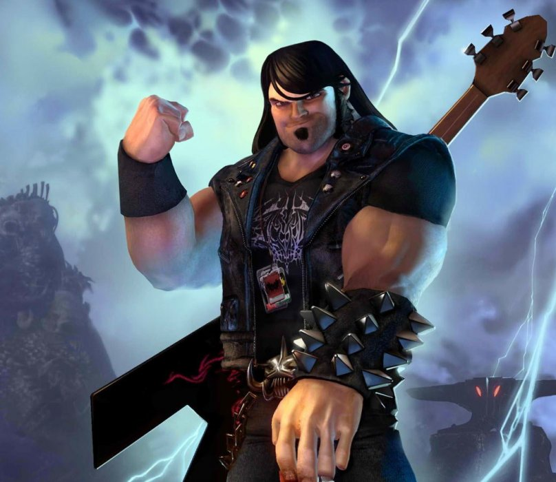 Эдди Риггс — мужчина с внешностью, голосом и повадками Джека Блэка — работает гастрольным техником у каких-то слащавых нью-металлистов. Он настраивает гитары, выставляет свет, следит за сценой и так далее. В один прекрасный день на Риггса обрушивается гигантская декорация, капля крови попадает на «демоническую» пряжку ремня — и герой переносится в параллельный мир, словно срисованный с обложек групп, играющих хэви-метал.