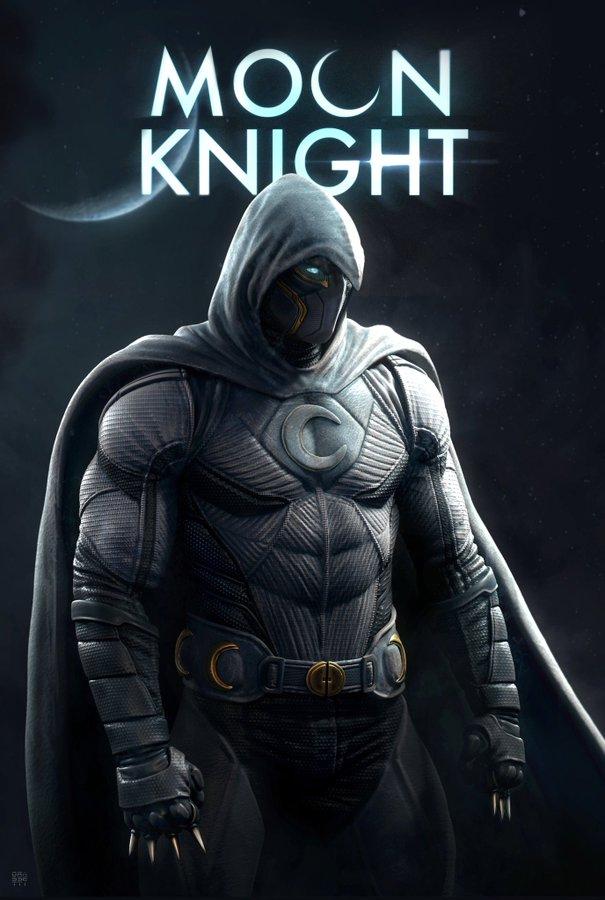Художник God OfWar представил, как Лунный рыцарь выгляделбы вMCU