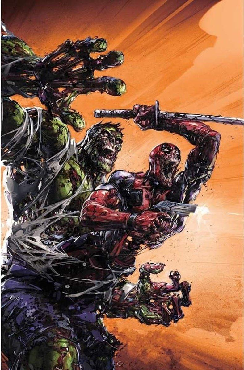 Герои Marvel снова обратились взомби