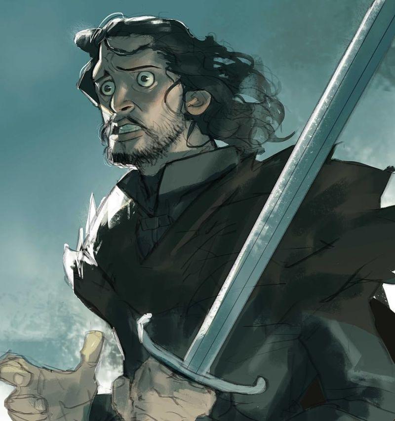 Персонажи «Игры престолов», еслибы сериал был мультфильмом