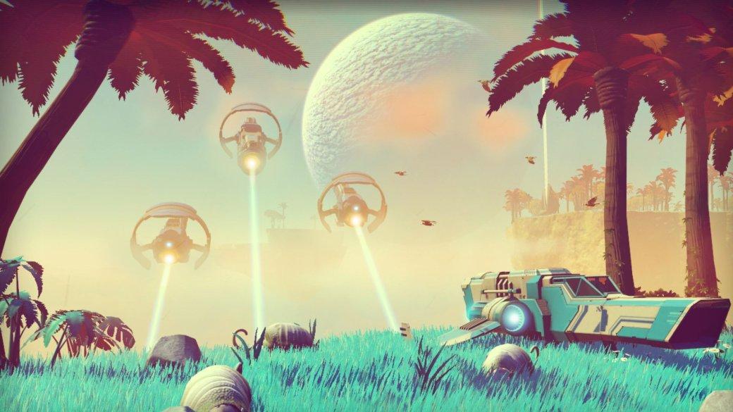 Мыпоиграли врелизную версию NoMan's Sky иделимся своей галереей скриншотов – вот так игра выглядит на PS4.