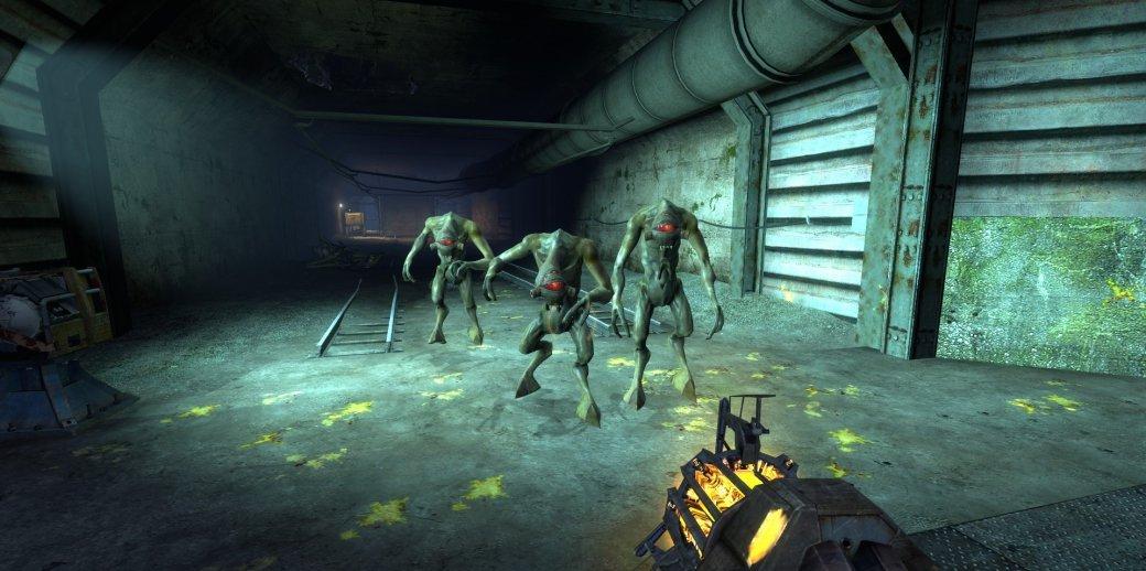 Для Half-Life 2 вышел мод, вкотором текстуры были улучшены при помощи искусственного интеллекта