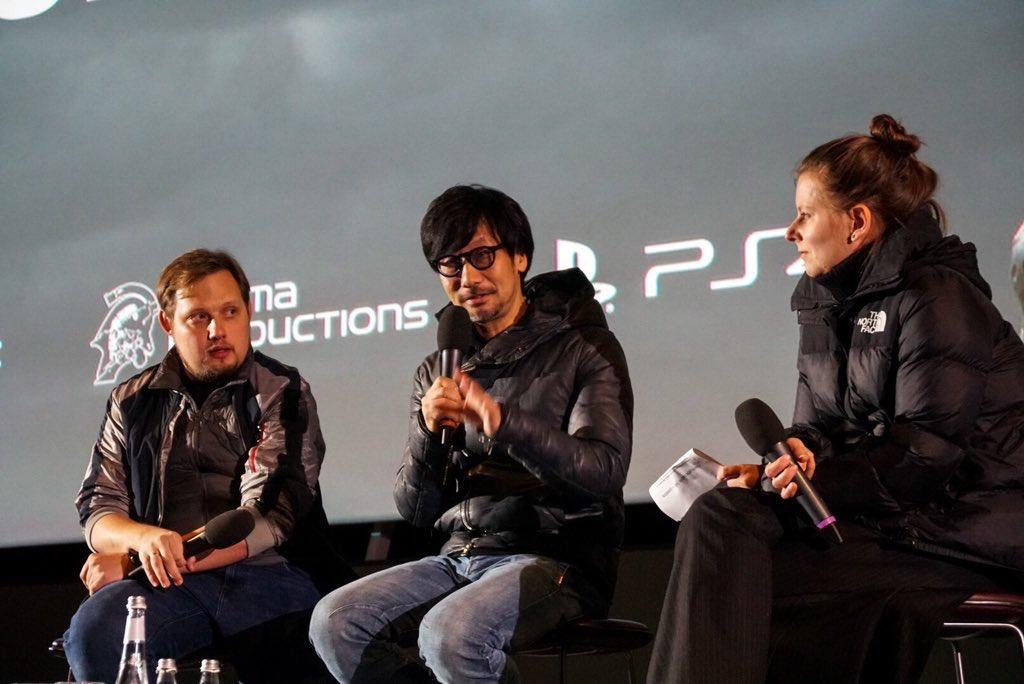 Влетнем кинотеатре музея «Гараж» 4октября состоялась встреча геймдизайнера Хидео Кодзимы сфанатами. Вовремя нее онрассказал оDeath Stranding исвоем неординарном подходе кработе.