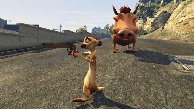Хакуна Матата пришла вЛос-Сантос сновым модом для GTA5